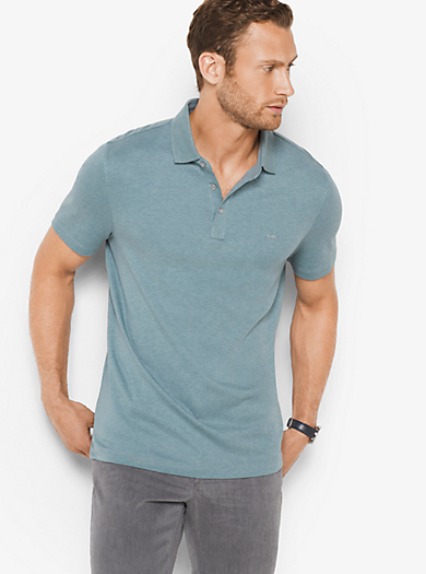 Polo in cotone by Michael Kors
