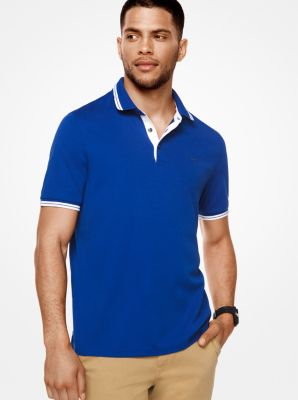 Greenwich Cotton Polo Shirt by Michael Kors
