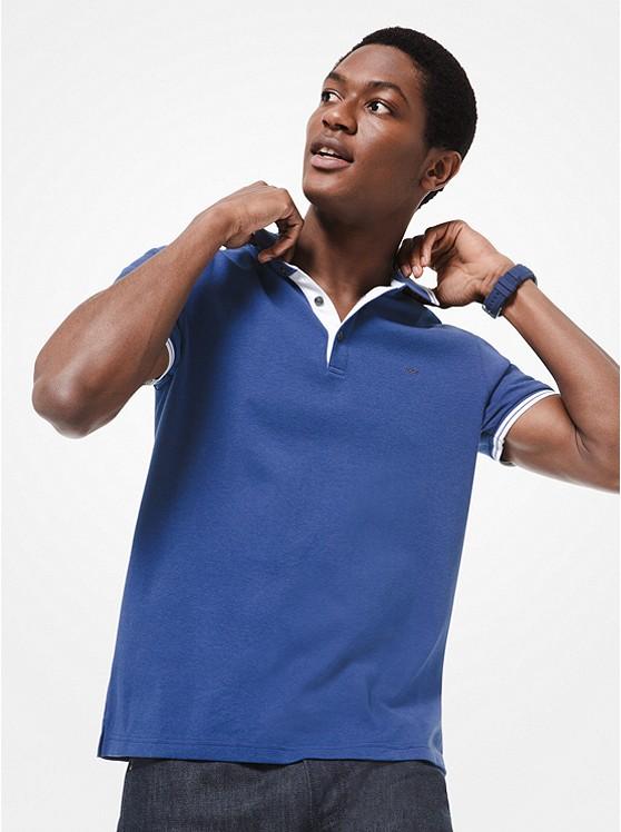Greenwich Cotton Polo Shirt | Michael Kors