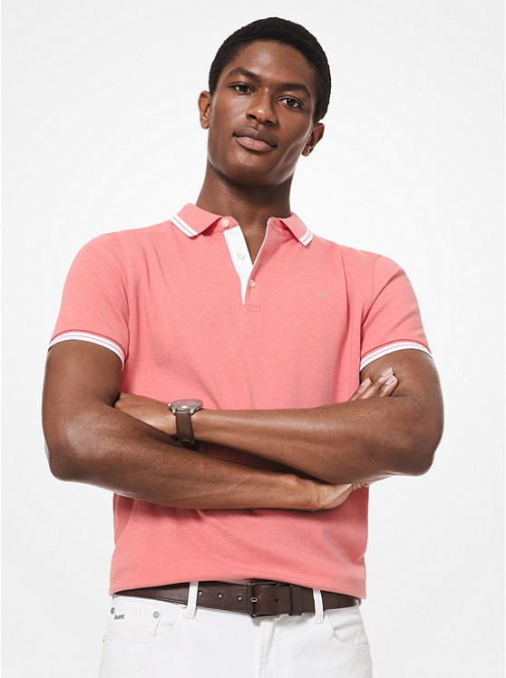 Greenwich Cotton Polo Shirt | Michael Kors