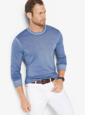 Washed Merino Wool Sweater by Michael Kors