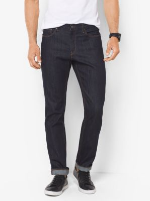 Slim-Fit Indigo Jeans by Michael Kors