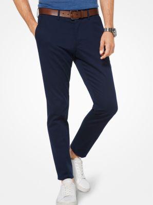 마이클 코어스 남성 슬림핏 바지 Michael Kors Slim-Fit Stretch-Cotton Trousers