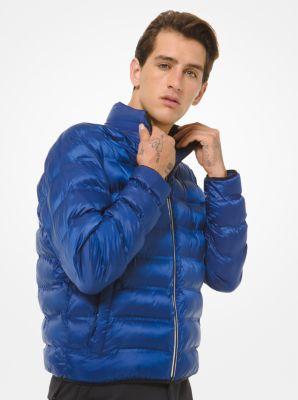 마이클 코어스 맨 패딩 자켓 Michael Kors KORS X TECH Quilted Taffeta Puffer Jacket