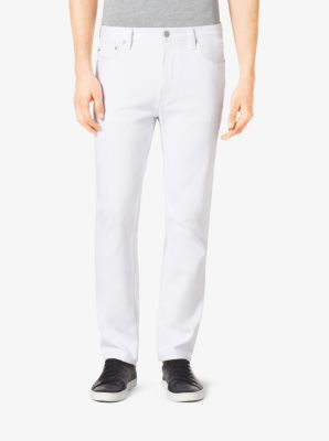 Tailored/Classic-Fit Jeans by Michael Kors