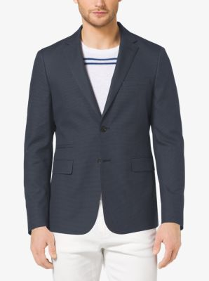 Slim-Fit Cotton Blazer by Michael Kors