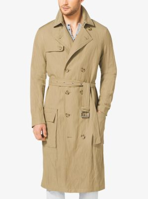 Cotton Trench Coat  by Michael Kors