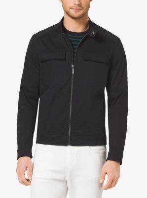 Stretch-Cotton Jacket by Michael Kors