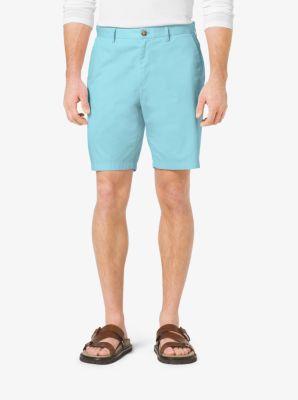 Slim-Fit Twill Shorts by Michael Kors