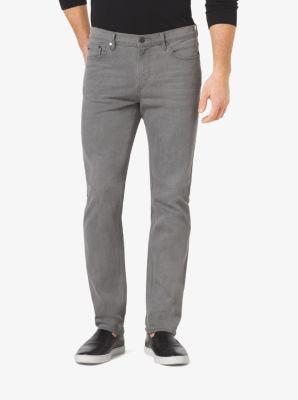 Slim-Fit Stretch-Cotton Jeans by Michael Kors
