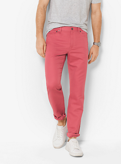 Tailored-/Classic-fit-Hose aus Leinenmischgewebe by Michael Kors