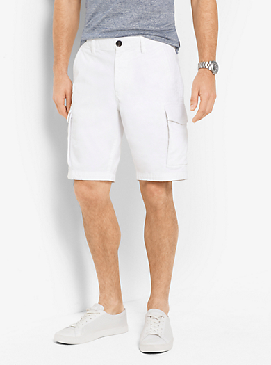 Cargo-Shorts aus Baumwoll-Twill by Michael Kors