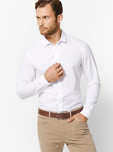 Slim-fit-Hemd aus Baumwolle by Michael Kors