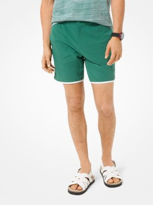 마이클 코어스 맨 반바지 Michael Kors Stretch Sport Shorts,AMAZON GREEN