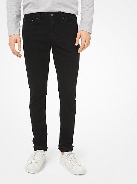 MK Jean skinny en coton extensible - NOIR(NOIR) - Michael Kors
