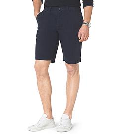 Stretch-Cotton Twill Cargo Shorts
