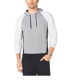 Color-Block Cotton Pullover