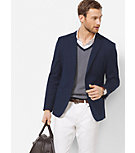 Slim-Fit Cotton-Jersey Blazer