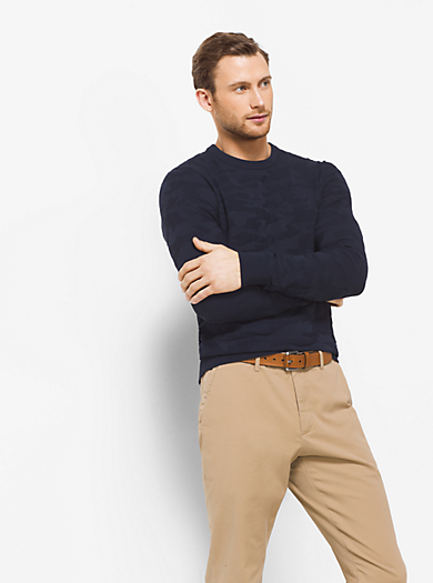 Camouflage Sweater  by Michael Kors