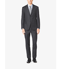 Slim-Fit Two-Button Wool Suit
