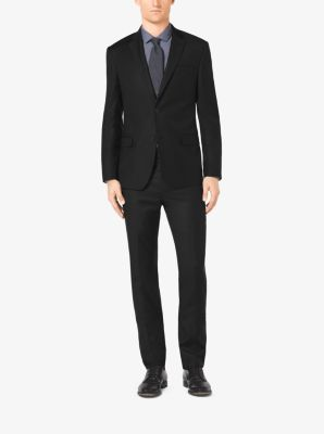 Slim-Fit Two-Button Wool Suit by Michael Kors