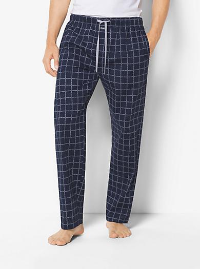 Cotton Pajama Pants by Michael Kors