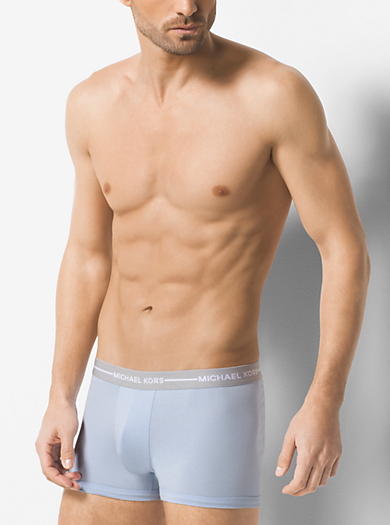 3-Pack Stretch-Cotton Boxer Brief by Michael Kors