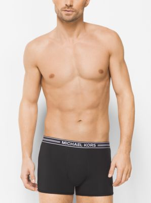 Cotton-Modal Boxer Brief by Michael Kors