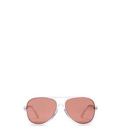 Brynn Tortoise Acetate Aviator Sunglasses