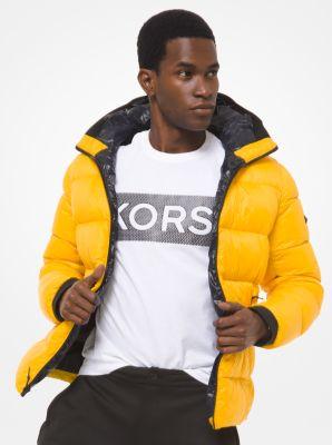 마이클 코어스 맨 후드 푸퍼 자켓 Michael Kors Quilted Nylon Hooded Puffer Jacket