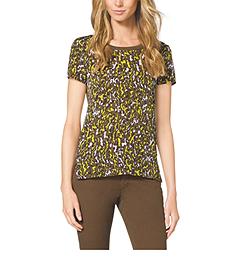 Leopard-Print T-Shirt