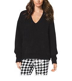 Angora-Blend Sweater