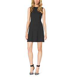 Sleeveless Ponte Dress