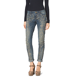 Studded Boyfriend Jeans