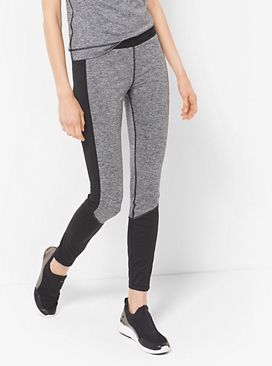 Active Stretch-Jersey Leggings by Michael Kors