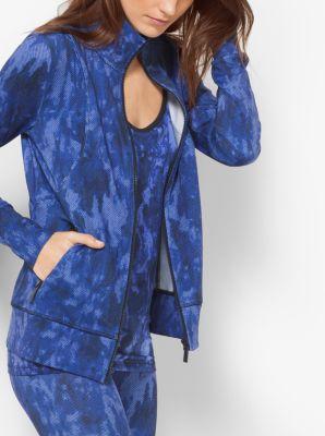 Active Tie-Dye Print Jacket by Michael Kors