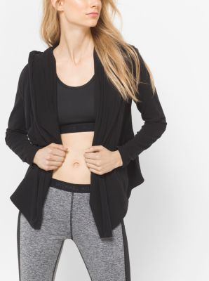 Active Stretch-Jersey Hoodie by Michael Kors