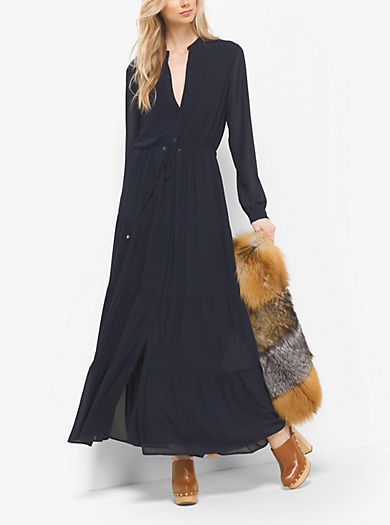 Maxi dress con coulisse by Michael Kors