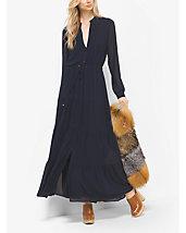 Drawstring Maxi Dress