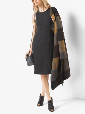 Viscose-Blend Sheath Dress by Michael Kors