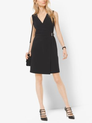 Belted Wrap Dress by Michael Kors
