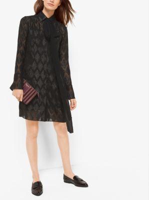 Diamond Jacquard Dress by Michael Kors