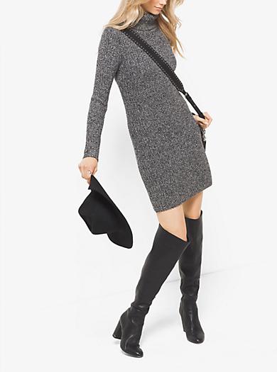 Abito maglione in misto lana by Michael Kors