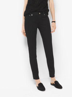 마이클 마이클 코어스 스키니 진 블랙 Michael Michael Kors  Selma Skinny Jeans,BLACK