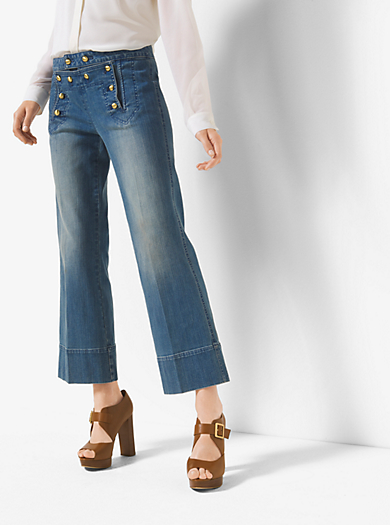 Jeans alla marinara corti by Michael Kors