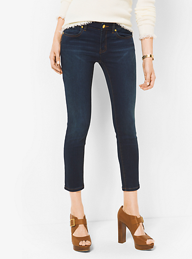 Izzy Cropped Skinny Jeans by Michael Kors