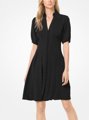 마이클 마이클 코어스 Michael Michael Kors Cady Shirtdress,BLACK