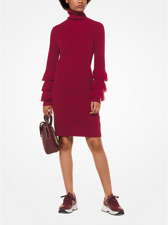 Wool-Blend Turtleneck Dress | Michael Kors