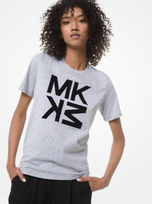 마이클 마이클 코어스 반팔티 Michael Michael Kors Graphic Logo Cotton-Jersey T-Shirt