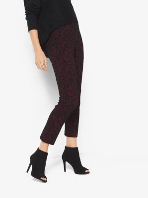 Lace Jacquard Trousers by Michael Kors